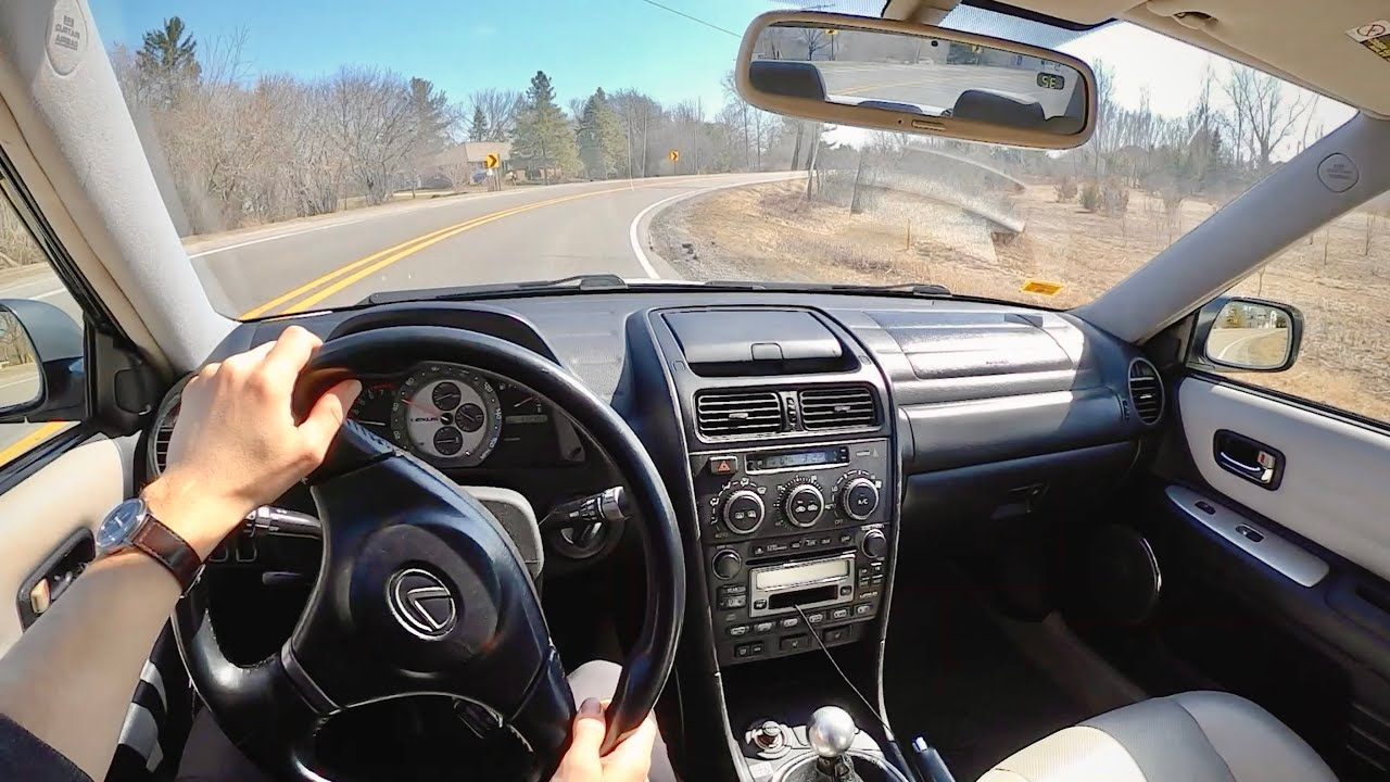 2003 Lexus IS 300 5-Speed Manual - POV Update & Blizzak WS-90 Dry Performance