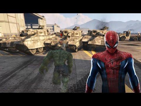 Örümcek Adam  Hulk Demir Adam  Tuzağa Düşüyor - Süper Kahramanlar Çizgi Film İzle #09