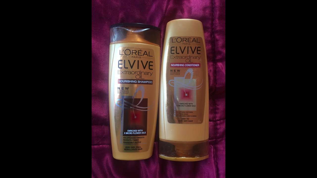 Loreal Elvive Extraordinary Oil Shampoo And Conditioner