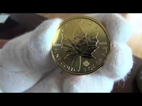 Unboxing of 2015 Canadian Gold Maple Leaf Coins