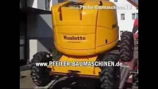 Коленчатый подъемник Haulotte HA 18 PX(, 2014-09-05T01:22:54.000Z)