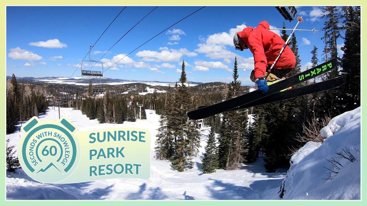 Sunrise Park Resort 60 Seconds with Snowledge