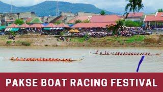 Pakse Boat Racing Festival