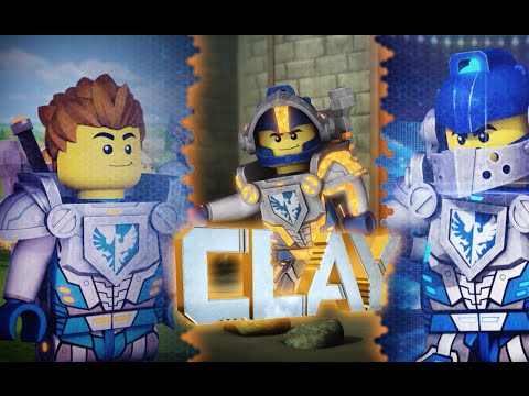Clay: Live by the Code - LEGO NEXO KNIGHTS