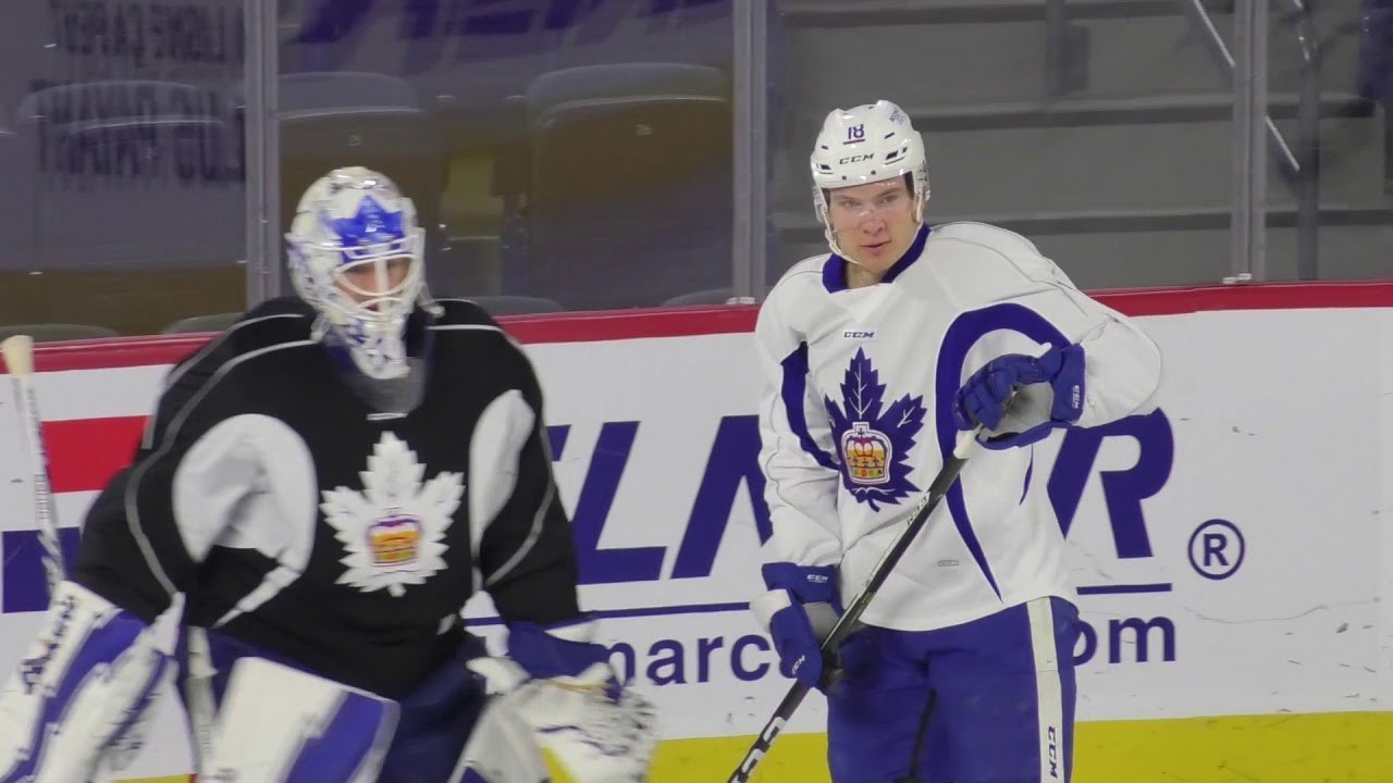 45232dcfd35 Marlies Morning Skate - Colin Greening and Rich Clune - YouTube