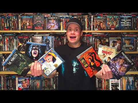 My Blu-ray Collection Update 1/21/17 : Blu ray and Dvd Movie Reviews