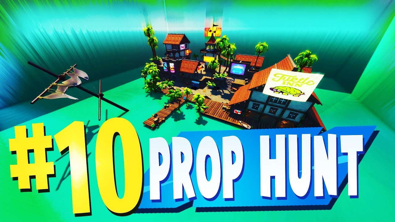 TOP 10 MOST FUN PROP HUNT Maps In Fortnite Creative Mode ...