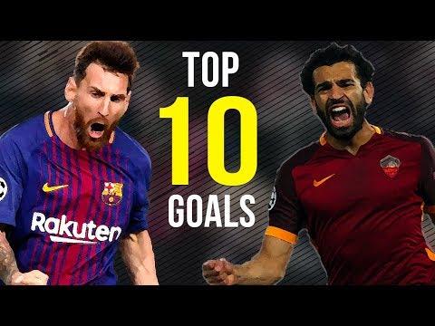 Lionel Messi Vs Mohamed Salah ● Top 10 Goals 2018 ● HD