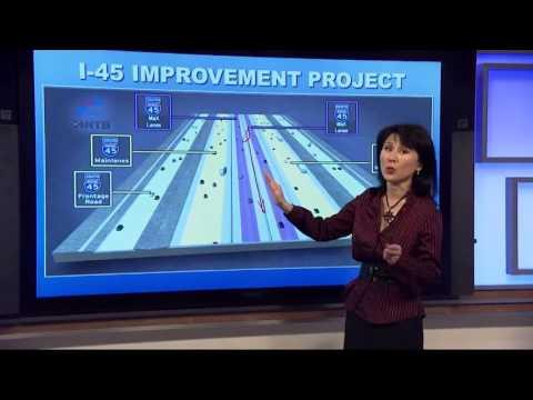 TxDOT's plan to improve traffic on I-45 North