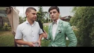 Сергей + Даша свадьба Речица 2016 ШОК! ведущий пришёл на свадьбу в шортах!