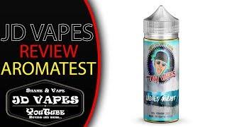 Tony Vapes Ladies Night Aroma I #JDVAPES LIQUID REVIEW