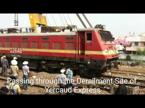 Chennai Mangalore West Coast Express Full Journey Compilation