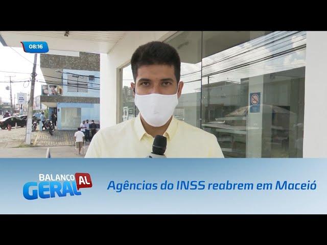 Agências do INSS reabrem em Maceió