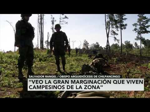 Los amapoleros de la sierra de Guerrero, no son narcotraficantes: Obispo de Chilpancingo