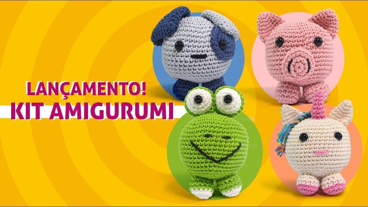 Kit Amigurumi: novos bichinhos que vão roubar seu coração ... | 720x1280
