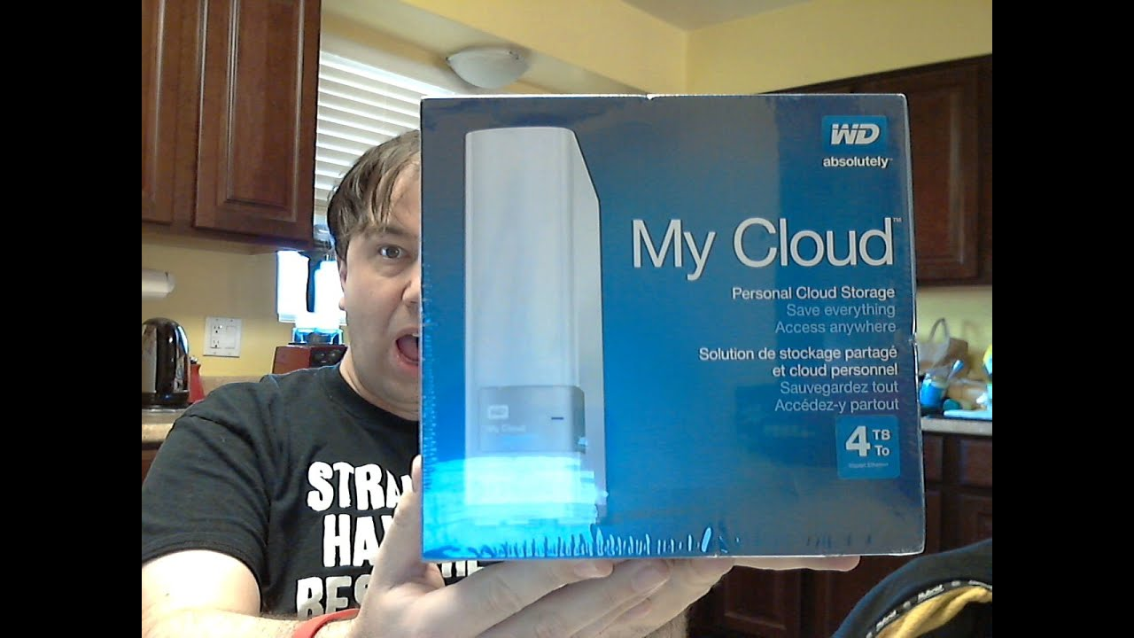 WD - My Cloud 4TB External Hard Drive (NAS) unboxing