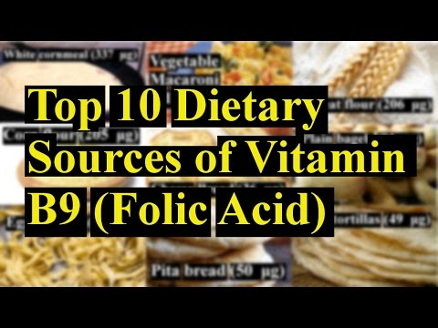 Top 10 Natural Sources of Vitamin B9 (Folic Acid)