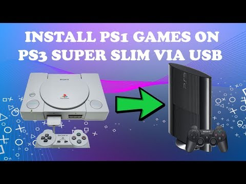 How to Install PS1 Games on PS3 Super Slim CFW/OFW [Tested 100%]