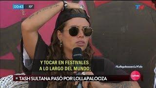 Entrevista a Tash Sultana en Lollapalooza Argentina (La Viola TN, 2018)