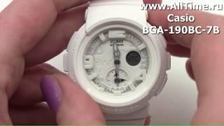 Обзор. Японские наручные часы Casio BGA-190BC-7B с хронографом