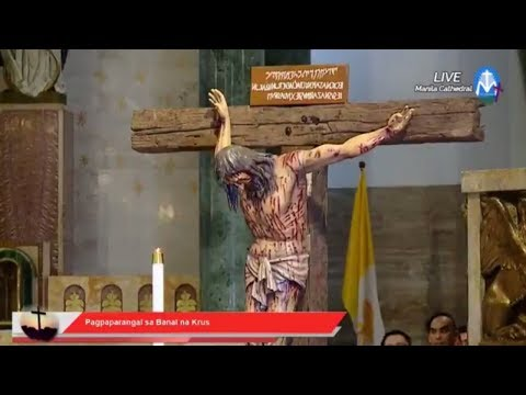 Solemn Liturgy on Good Friday of the Lord's Passion from Mainal Cathedral | 30 March 2018