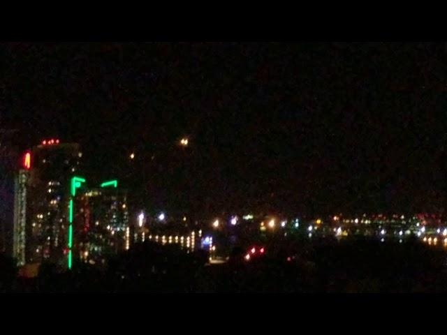 UFO Lights over San Diego 8/29/18