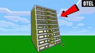 FAKİR OTEL YAPTIRIYOR 😱 - Minecraft