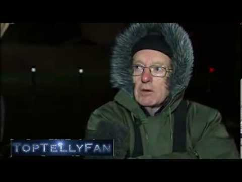 Paul Daniels caught up in the London floods (Channel 4 News, 12.2.14)