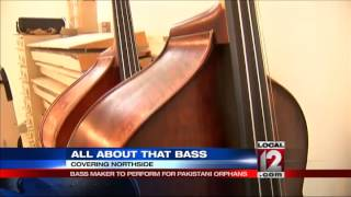 Bass maker to perform for Pakistani orphans