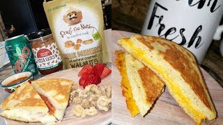 90 SECOND BREAD🍞 KETO GRILLED CHEESE!
