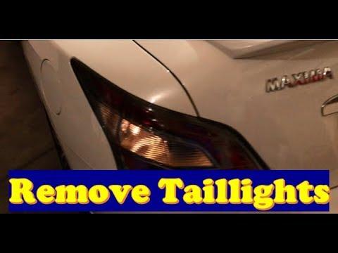 Nissan Maxima - Replace Taillights & Brake / Reverse / Signal Bulbs