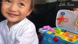 Download Video Membuat Kamar Main di Mobil   Kenzo main Dokter Dokteran sama Kakak Zara Cute dan Baby Sakura MP3 3GP MP4