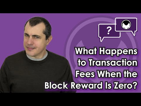 Bitcoin Q&A: What happens to transaction fees when the block reward is zero?