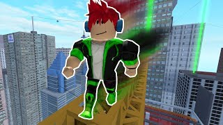 DOING INCREDIBLE PARKOUR END IN ROBLOX