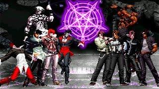 Kof Mugen Orochi Iori Team VS Orochi Kyo Team