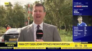 John Stones Sign for Manchester City