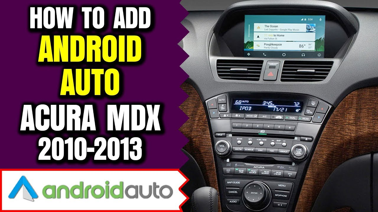 Navtool Acura Androidauto