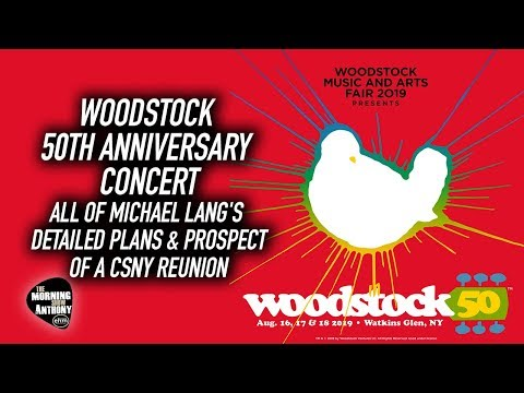 Woodstock 50th Anniversary Concert: All Of Michael Lang's Detailed Plans Mp3