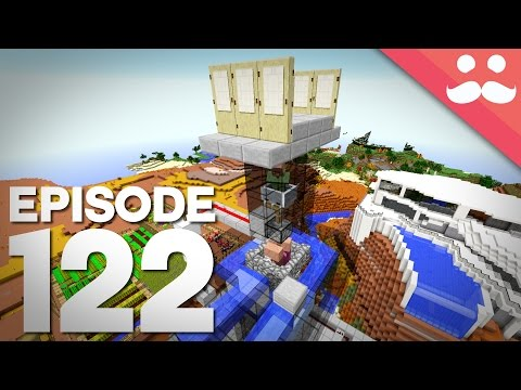 Hermitcraft 4: Episode 122 - The Mega Villager Transporter!