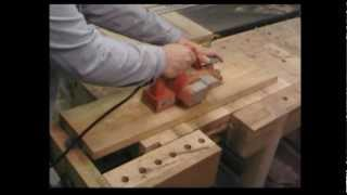 Stumpy Nubs Tip- Flattening Stock With An Electic Hand Plane
