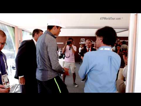 A Day In The Life Of Milos Raonic