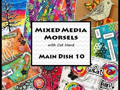 Mixed Media Morsels, Main Dish 10 – Christmas Cards