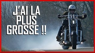 BOSS HOSS test moto : La plus GROSSE moto du monde ! (English Subs)