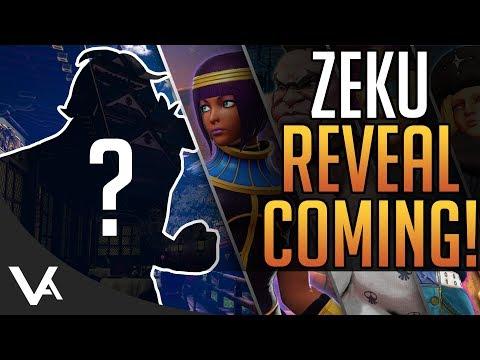 SFV - Zeku Reveal Soon! The Final New DLC Character For Street Fighter 5 Season 2