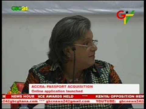 Launch Of Online Passport Application Service