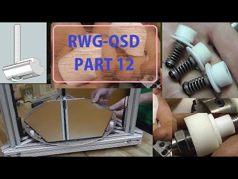 RWG OSD #12 Thermal Break Zero Backlash Bed Plate Spring Adjustments & Glass Mounts.