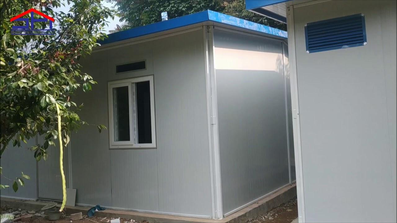 Prefabricated Rumah Type 36 Proyek Bogor - YouTube