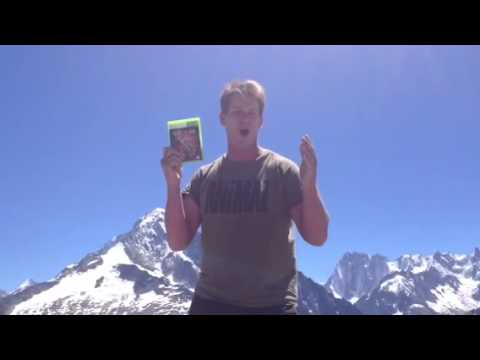 WWE champion promotes WWE 2K14 atop the Alps