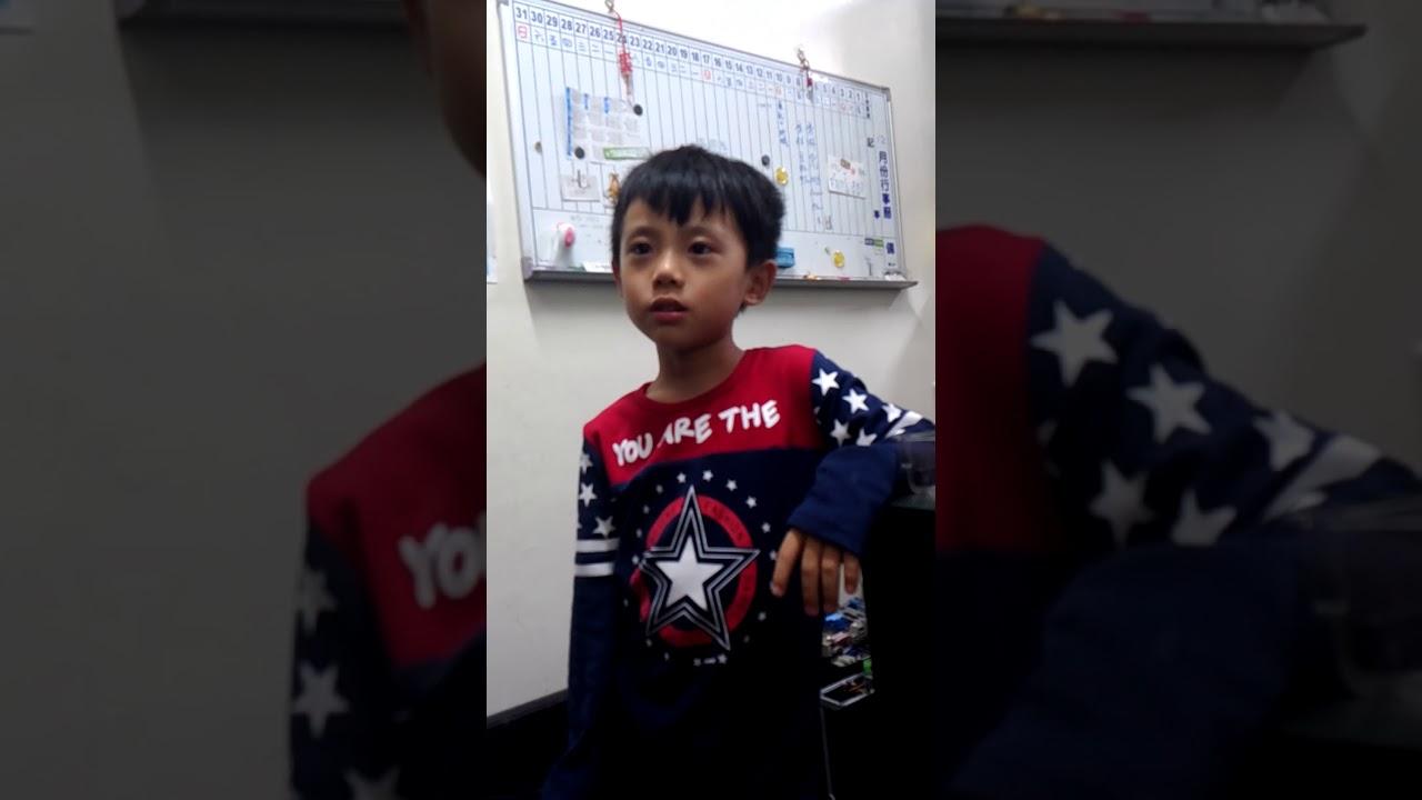 6歲自己背的九九乘法表01