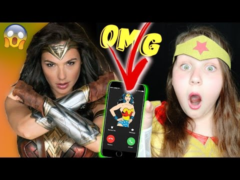CALLING WONDER WOMAN!! SHE ANSWERED OMG!!